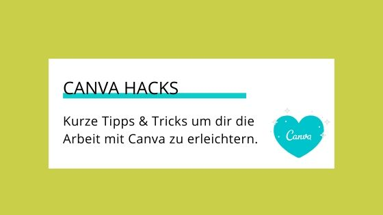 Canva Hacks