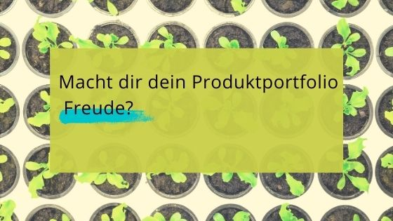 You are currently viewing Dein Produktportfolio muss zu dir und deinen Träumen passen!