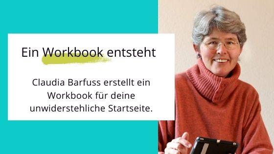 Workbook für deine unwiderstehliche Startseite